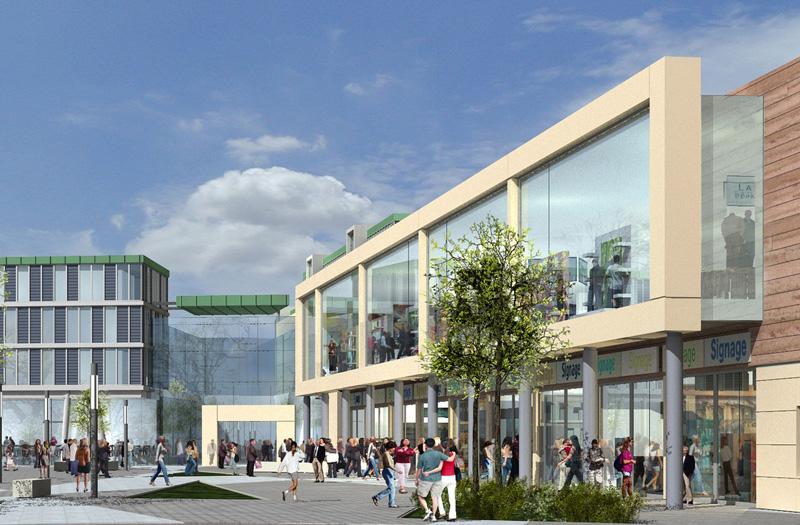 Portlaoise Shopping Centre Exterior