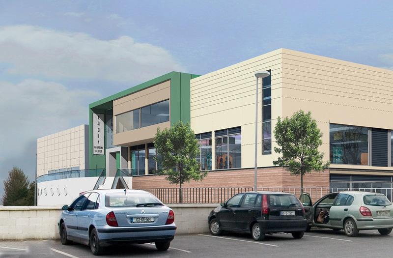 Portlaoise Shopping Centre front